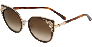 Sunglasses - Chopard - SCHC82S - 0300  SHINY ROSE GOLD // BROWN GRADIENT ANTIREFLECTION
