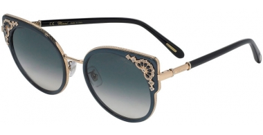 Sunglasses - Chopard - SCHC82S - 300V  SHINY ROSE GOLD // GREY PINK GRADIENT ANTIREFLECTION