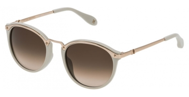 Sunglasses - Carolina Herrera New York - SHN041M - 300Y SHINY ROSE GOLD GREY // BROWN GRADIENT