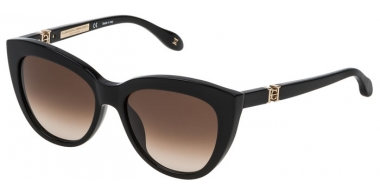 Sunglasses - Carolina Herrera New York - SHN571M - 0700 SHINY BLACK // BROWN GRADIENT