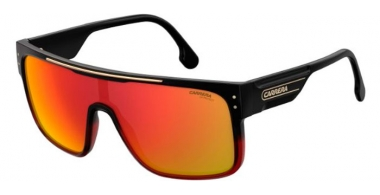 Sunglasses - Carrera - CA FLAGTOP II - AJ1 (UZ)  BLACK GRADIENT RED // RED MIRROR