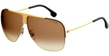 Sunglasses - Carrera - CARRERA 1013/S - 001 (86)  YELLOW GOLD // BROWN GREEN GRADIENT ANTIREFLECTION