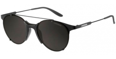Gafas de Sol - Carrera - CARRERA 128/S - 003 (NR) MATTE BLACK // BROWN GREY