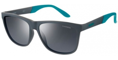 Sunglasses - Carrera - CARRERA 8022/S - RIW (SF) MATTE GREY // BLACK MIRROR