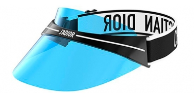 Sunglasses - Dior - DIORCLUB1 - J0F (02) BLACK AND WHITE // BLUE