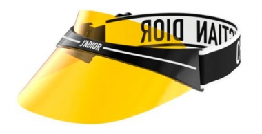 Sunglasses - Dior - DIORCLUB1 - OTL (04) BLACK AND WHITE // YELLOW