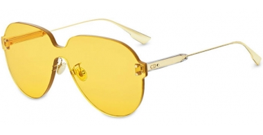 Sunglasses - Dior - DIORCOLORQUAKE3 - 40G (HO) GOLD // YELLOW