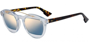 Sunglasses - Dior - DIORMANIA1 - LWP (JO) CRYSTAL  HAVANA // GREY BRONZE MIRROR