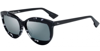 Sunglasses - Dior - DIORMANIA2 - AB8 (T4) HAVANA GREY // BLACK MIRROR