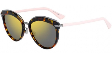 Gafas de Sol - Dior - DIOROFFSET2 - 01K (83) HAVANA LIGHT PINK // BROWN GOLD MIRROR ANTIREFLECTION MULTILAYER