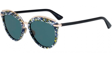 Gafas de Sol - Dior - DIOROFFSET2 - 9N7 (2K) BLUE BLACK // GREY ANTIREFLECTION