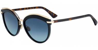 Gafas de Sol - Dior - DIOROFFSET2 - WR7 (86) BLACK HAVANA // BLUE GRADIENT ANTIREFLECTION