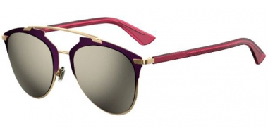 Sunglasses - Dior - DIORREFLECTED - TYJ (UE) VIOLET // GREY IVORY MIRROR