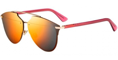 Sunglasses - Dior - DIORREFLECTEDP - S6D (RR) RED GOLD RED // RED MULTILAYER
