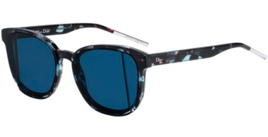 Gafas de Sol - Dior - DIORSTEP - SN4 (TJ) GREEN HAVANA // BLUE GREEN ANTIREFLECTION