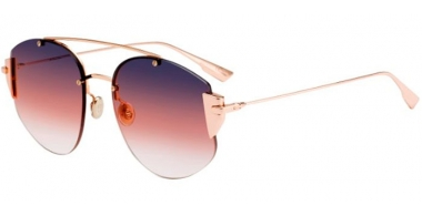 Sunglasses - Dior - DIORSTRONGER - DDB (FF)  GOLD COPPER // GREY FUCHSIA