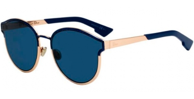 Gafas de Sol - Dior - DIORSYMMETRIC - NUM (A9) MARBLE BLUE // BLUE GREY ANTIREFLECTION