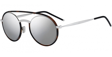 Sunglasses - Dior Homme - DIORSYNTHESIS01 - 45Z (0T) HAVANA SILVER // GREY SILVER ANTIREFLECTION