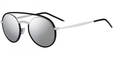 Sunglasses - Dior Homme - DIORSYNTHESIS01 - CSA (0T) BLACK PALLADIUM // GREY SILVER ANTIREFLECTION