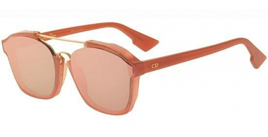 Gafas de Sol - Dior - DIORABSTRACT - GGX (AP) ANTIQUE ROSE // PINK MIRROR