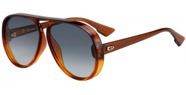 Gafas de Sol - Dior - DIORLIA - 12J (1I) BROWN ORANGE // GREY GRADIENT ANTIREFLECTION