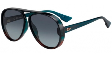 Gafas de Sol - Dior - DIORLIA - JWJ (1I) 	 GREEN BROWN // GREY GRADIENT ANTIREFLECTION