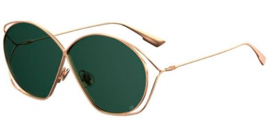 Gafas de Sol - Dior - DIORSTELLAIRE2 - DDB (O7) GOLD COPPER // GREEN LIGHT GREEN ANTIREFLECTION