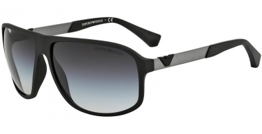 Sunglasses - Emporio Armani - EA4029 - 50638G  BLACK RUBBER // GREY GRADIENT