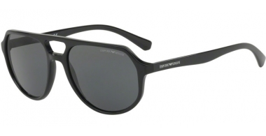Sunglasses - Emporio Armani - EA4111 - 500187 BLACK // GREY