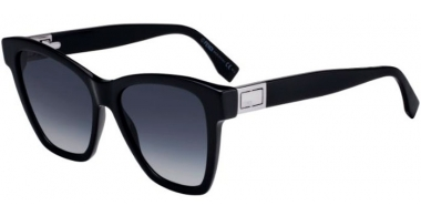Sunglasses - Fendi - FF 0289/S - 807 (9O)  BLACK // DARK GREY GRADIENT