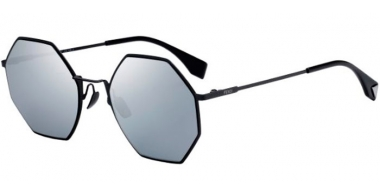 Sunglasses - Fendi - FF 0292/S - 807 (T4)  BLACK // BLACK MIRROR