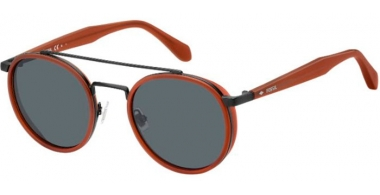 Lunettes de soleil - Fossil - FOS 2082/S - 2LF (IR) CORAL // GREY