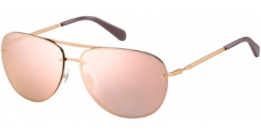 Sunglasses - Fossil - FOS 2084/S - AU2 (0J) RED GOLD // GREY ROSE GOLD MIRROR