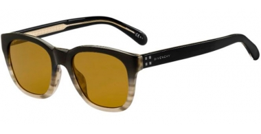 Sunglasses - Givenchy - GV 7104/G/S - 21B (70) GRADIENT HAVANA GREY // BROWN