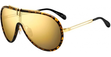 Sunglasses - Givenchy - GV 7111/S - 086 (K1) DARK HAVANA // GOLD MIRROR