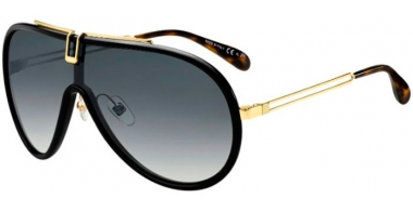 Sunglasses - Givenchy - GV 7111/S - 807 (9O) BLACK // DARK GREY GRADIENT
