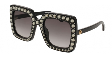 Gafas de Sol - Gucci - GG0148S - 001 BLACK // GREY GRADIENT