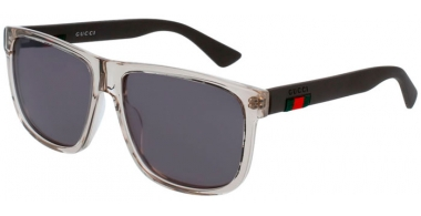 Sunglasses - Gucci - GG0010S - 005 BROWN // GREY
