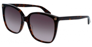 Sunglasses - Gucci - GG0022S - 003 HAVANA // BROWN GRADIENT