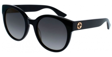 Gafas de Sol - Gucci - GG0035S - 001 BLACK // GREY GRADIENT