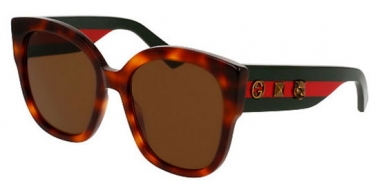 Sunglasses - Gucci - GG0059S - 002 HAVANA // BROWN