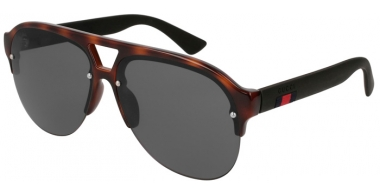 Sunglasses - Gucci - GG0170S - 003 HAVANA BLACK // GREY