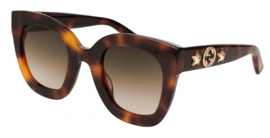 Sunglasses - Gucci - GG0208S - 003 HAVANA // BROWN GRADIENT