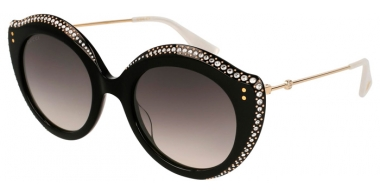 Sunglasses - Gucci - GG0214S - 001 BLACK GOLD // GREY GRADIENT