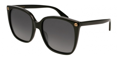 Sunglasses - Gucci - GG0022S - 007 BLACK // GREY GRADIENT POLARIZED