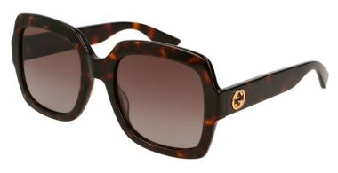Sunglasses - Gucci - GG0036S - 012 HAVANA // BROWN GRADIENT POLARIZED