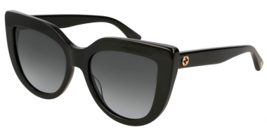 Sunglasses - Gucci - GG0164S - 001 BLACK // GREY GRADIENT