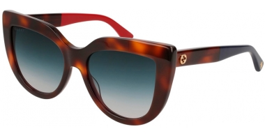 Sunglasses - Gucci - GG0164S - 004 HAVANA // GREY GRADIENT