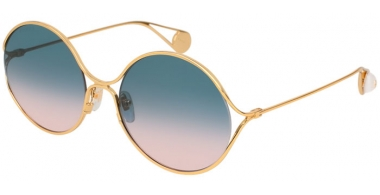 Sunglasses - Gucci - GG0253S - 003 GOLD // BLUE PINK GRADIENT