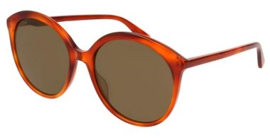 Sunglasses - Gucci - GG0257S - 002 HAVANA // BROWN